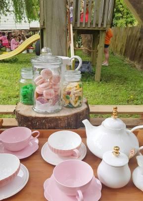 Tea Station + Mini Candy Bar