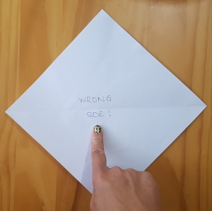 origami flower 1