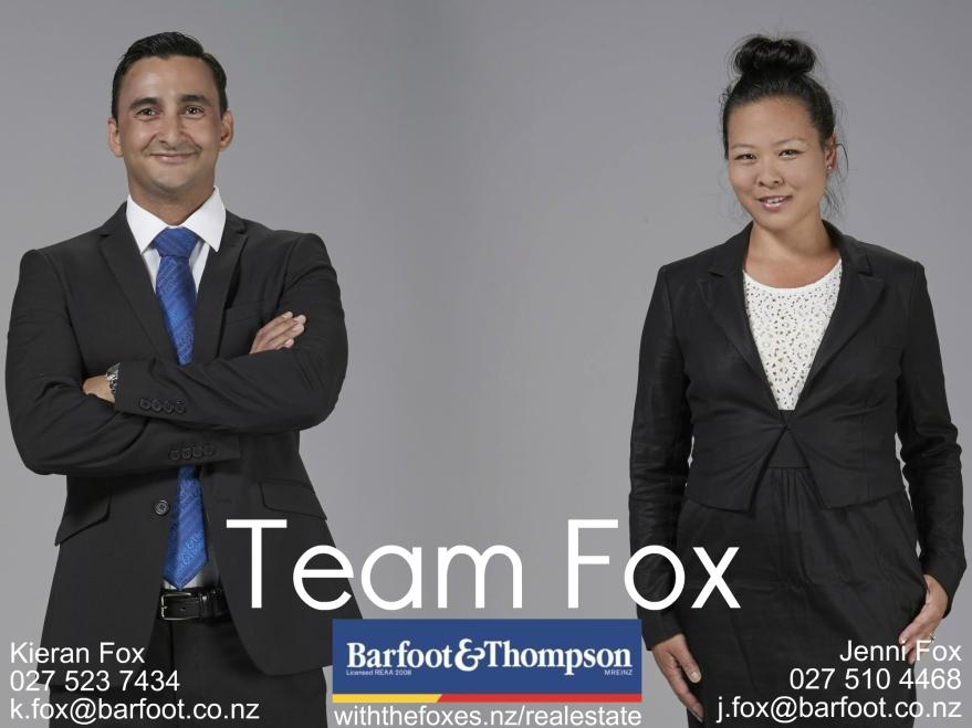 Team Fox postcard