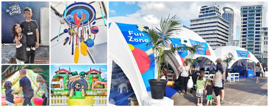 kids fun zone collage