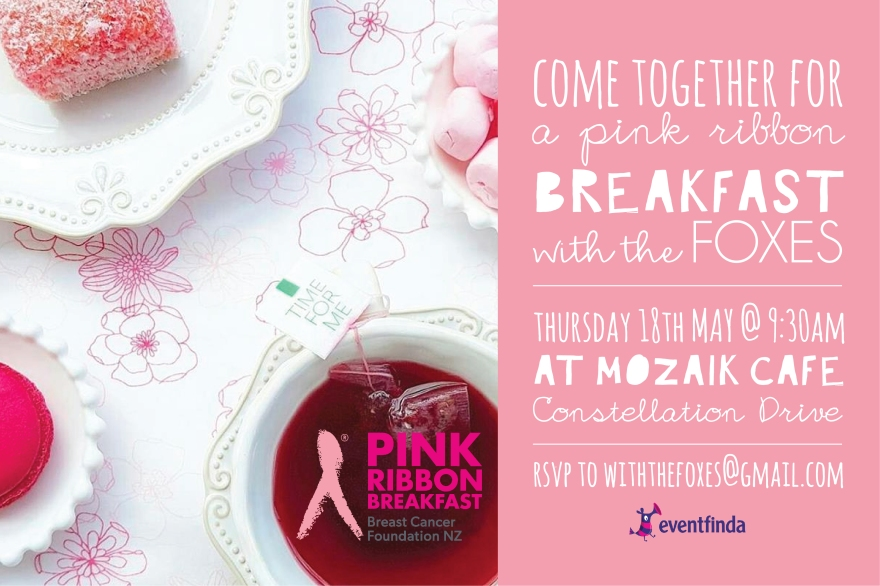 Pink Ribbon Breakfast 2017 with the Foxes