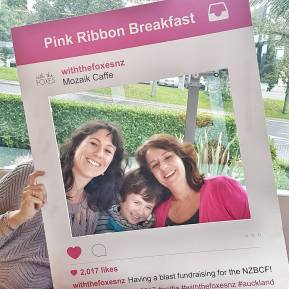 pink ribbon breakfast lydia