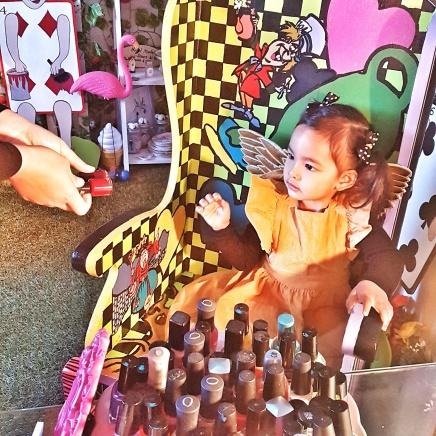 little miss enchanted manicure