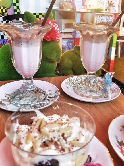 little miss enchanted milkshake parfait